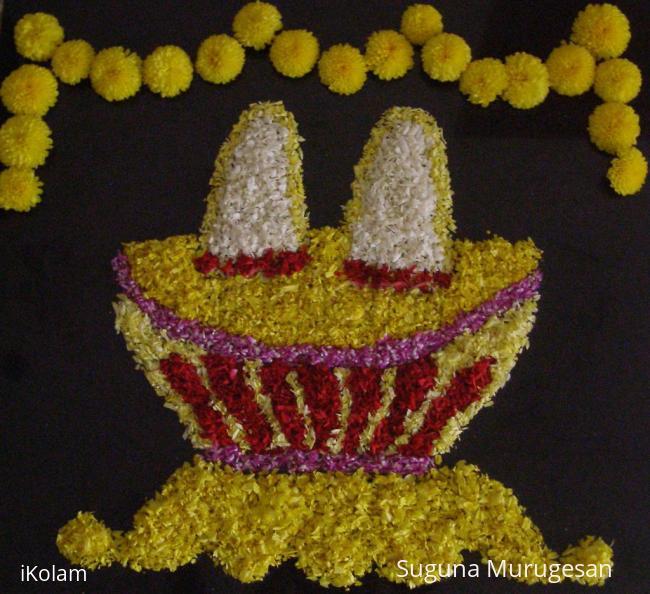 Rangoli: Srivari Padham
