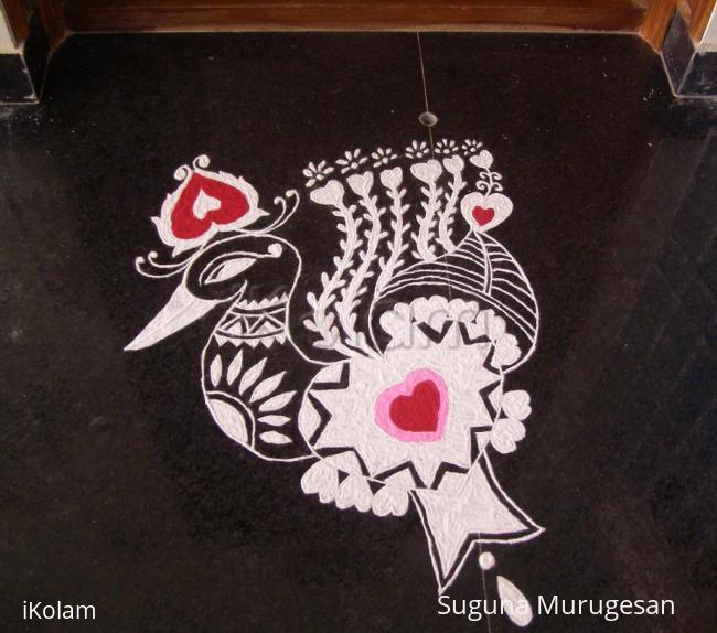 Rangoli: Happy Valentine's day!