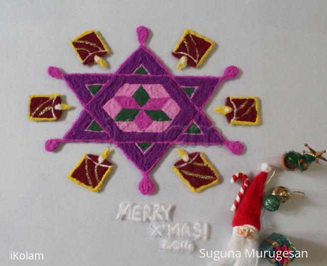 Rangoli: Merry X'Mas 2014
