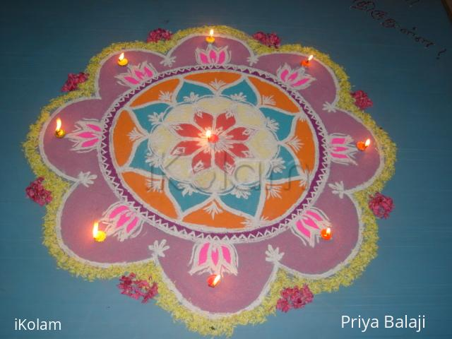 Rangoli: Priya's Rangoli-For comp