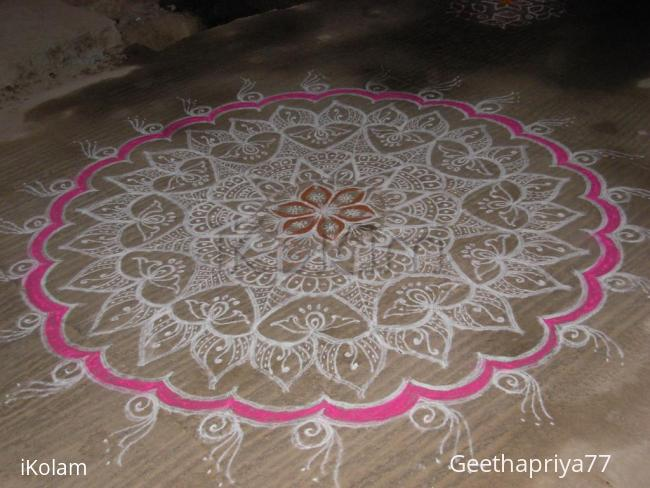 Rangoli: Floral