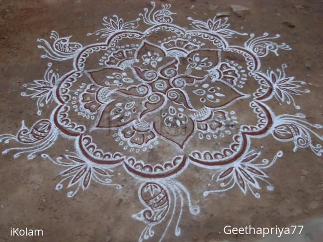 Rangoli: My creation