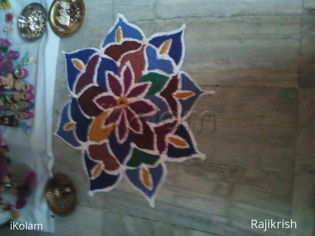 Rangoli: Admirable Lotus Kolam