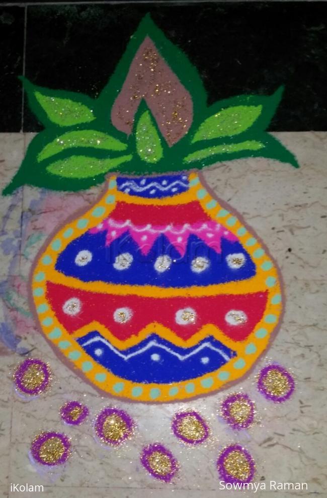 Rangoli: Navratri - Day 4