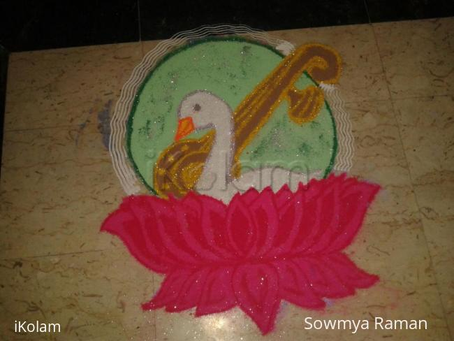 Rangoli: Navratri - Day 9