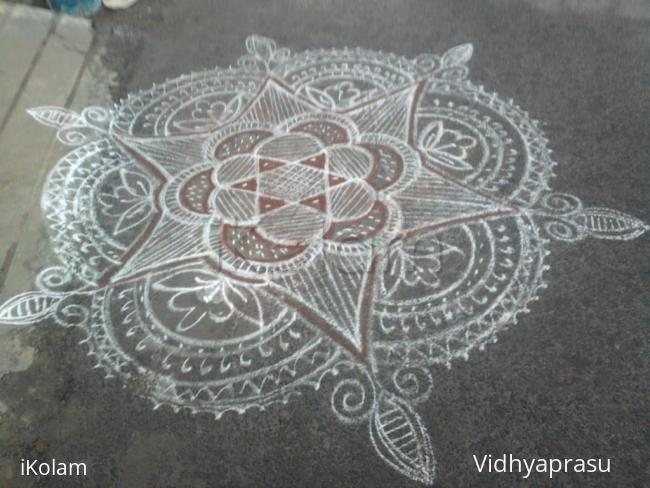 Rangoli: Rangoli on marzgali tuesday