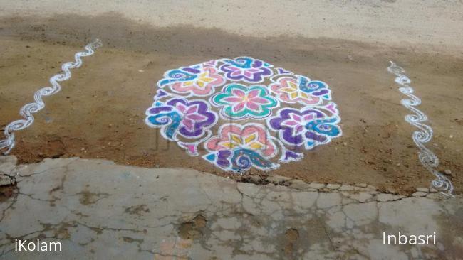 Rangoli: devotional rangoli