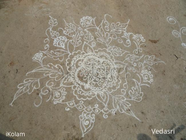 Rangoli: Freehand Design 3
