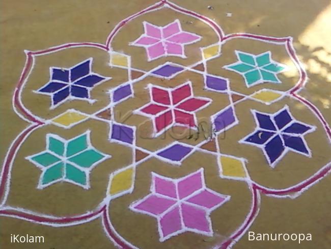 Rangoli: One of my margazhi kolam