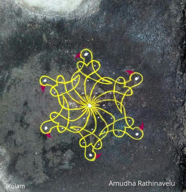 Rangoli: Yellow chikku bird
