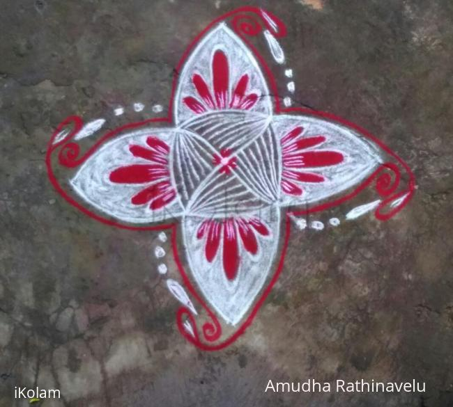 Rangoli: 20th day