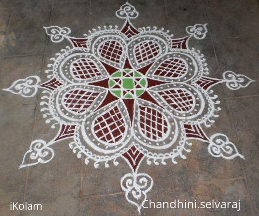 Rangoli: tuesday kavi kolam