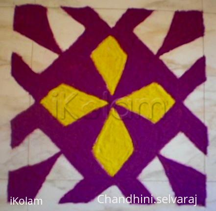 Rangoli: time pass kolam