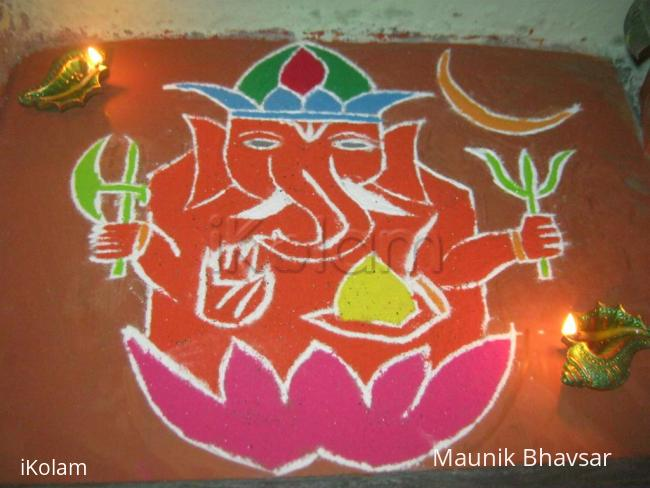 Rangoli: Dhanteras 2012