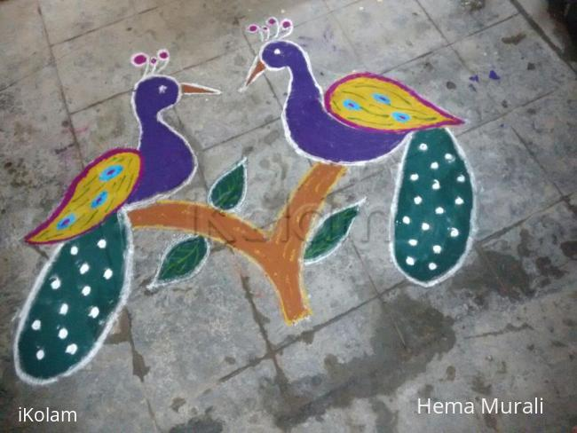 Happy New Year Rangoli Images 48