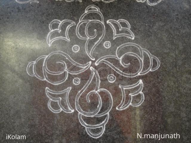 Rangoli: line rangoli