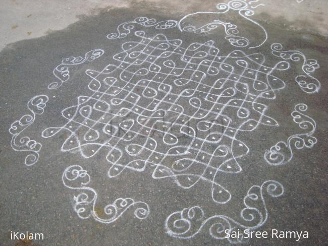 Rangoli: Sree Rama Navami Kolam