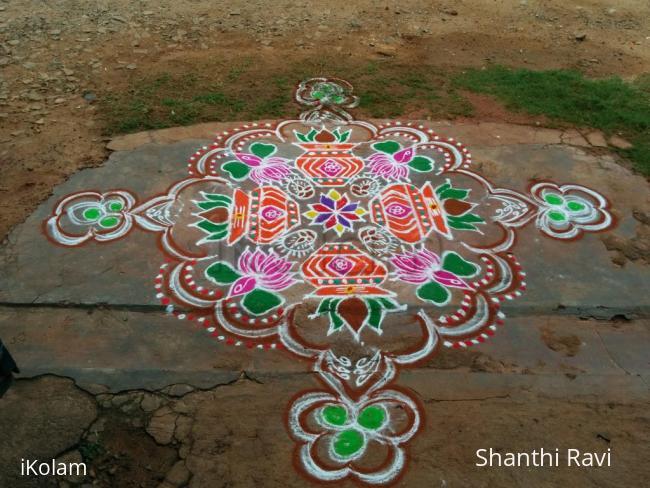 Rangoli: Varamaha Lakshmi Rangoli