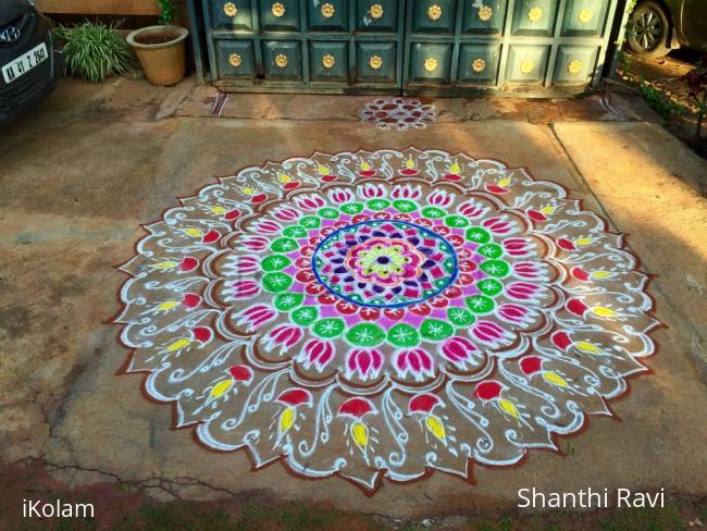 Rangoli: Ganesh Chaturthi special rangoli 2015