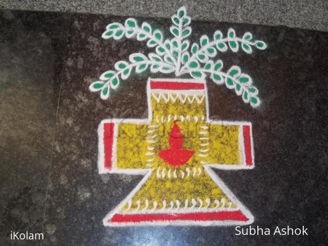 Rangoli: Marhazhi kolam!