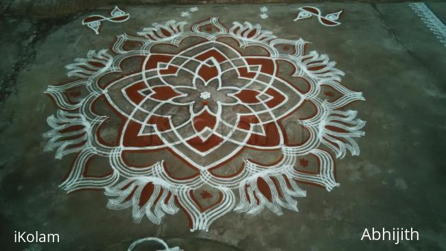Rangoli: Vasant Navaratri Day1