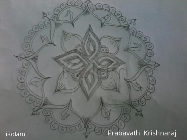 Rangoli: My first upload...