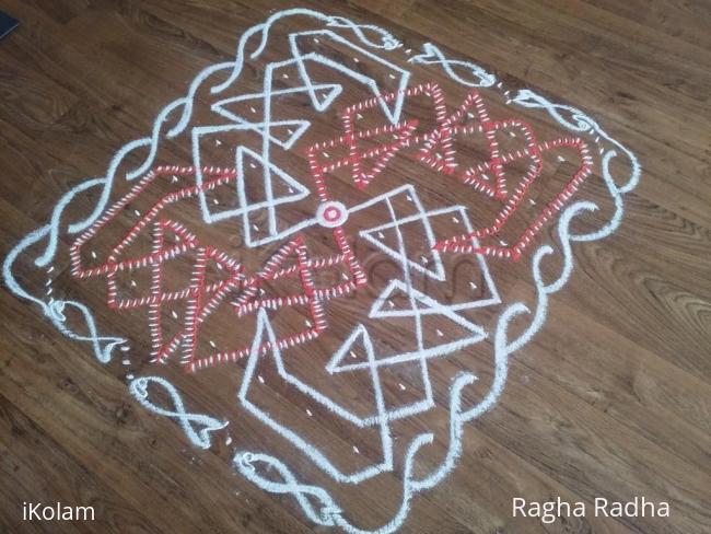 Rangoli: SriNarasimhaJayanthi Special Rangoli