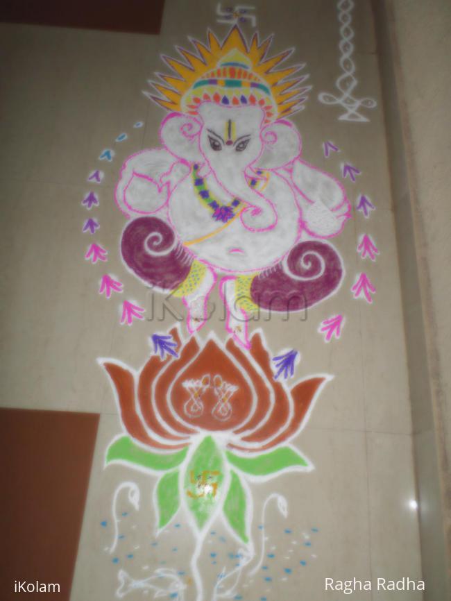 Rangoli: SRI PILLAIYAR SPECIAL