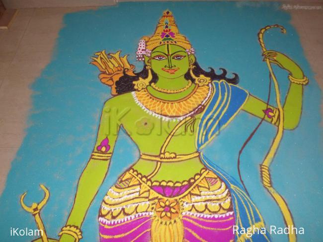 Rangoli: SRIRAMNAVMI SPECIAL Rangoli