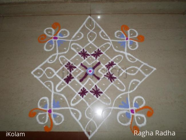 Rangoli: Chikku colorful(O.I.)