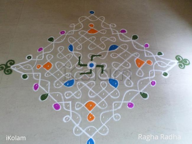 Rangoli: DUSSHERA DAY FIRST