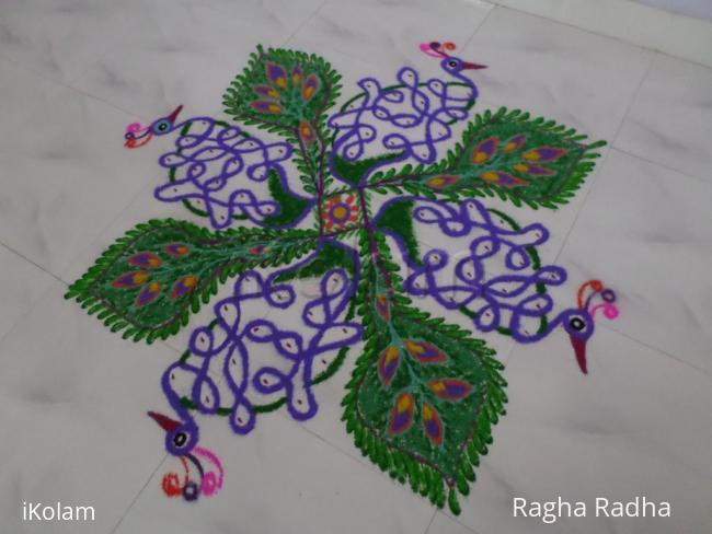 Rangoli: DASHAHARA DAY 4 RANGOLI