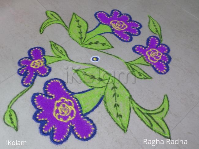 Rangoli: Navarathri 10thDay