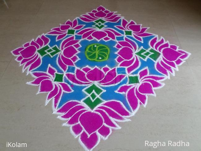 Rangoli: HAPPY DEEPAVALI 2016