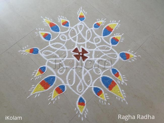 Rangoli: Deepavali Prior Day