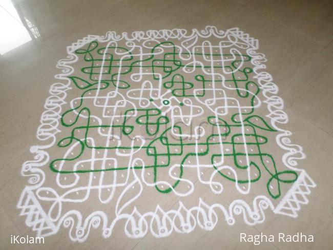 Rangoli: NavaRathri-3rdDay