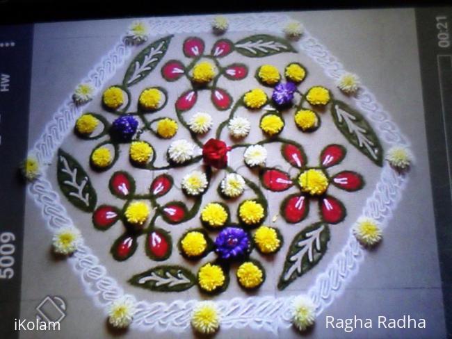 Rangoli: HAPPY UGADHI2017