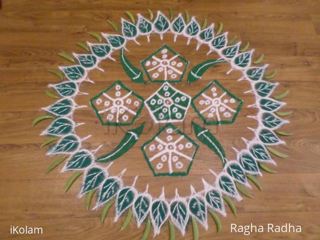 Rangoli: NavaRathri-1st day