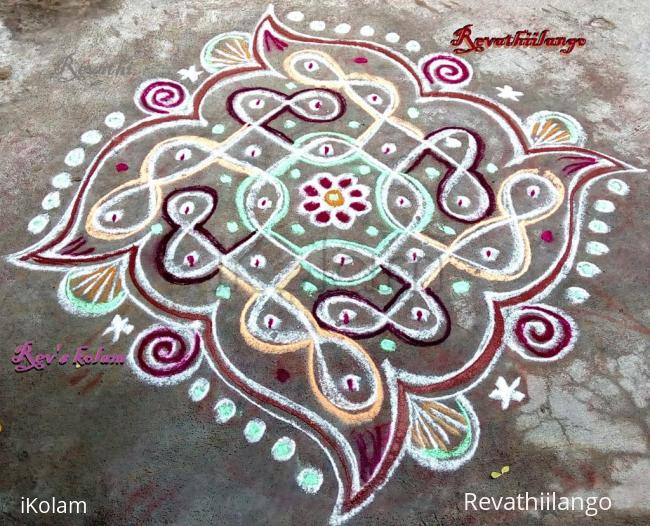 Rangoli: Rev's simple chikku