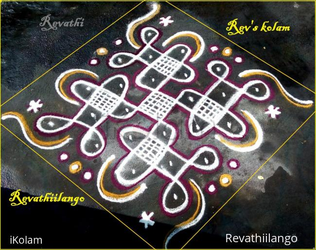 Rangoli: Rev's easy chikkus 3.