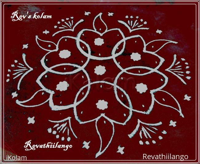 Rangoli: Rev's easy chikku 11.