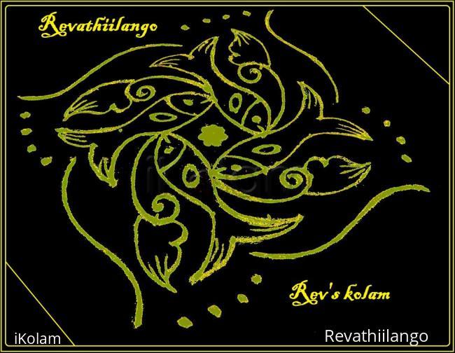 Rangoli: Rev's daily kolam 10.