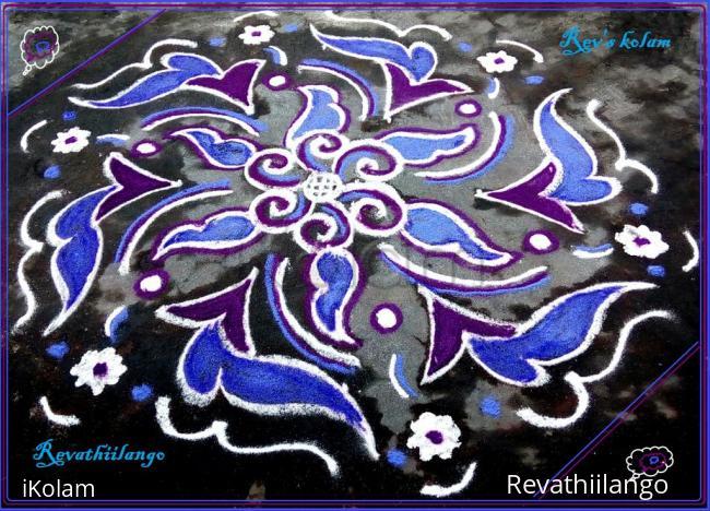 Rangoli: Rev's daily kolam 14.