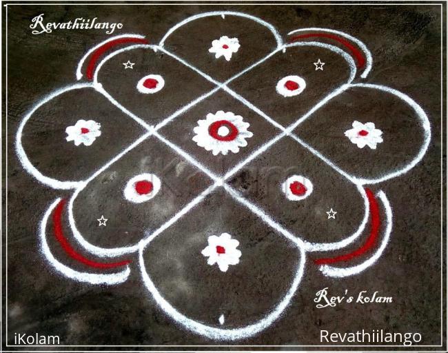 Rangoli: Rev's daily kolam 18.