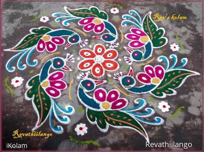 Rangoli: Rev's margazhi kolam 15.