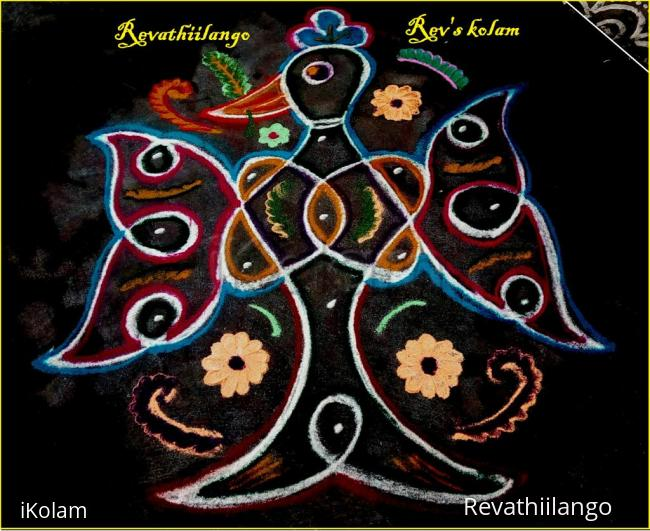 Rangoli: Rev's daily kolam 29.