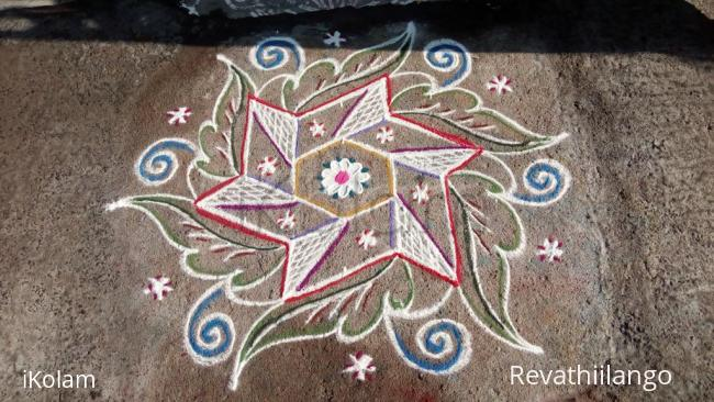 Rangoli: Rev's daily kolam. New.