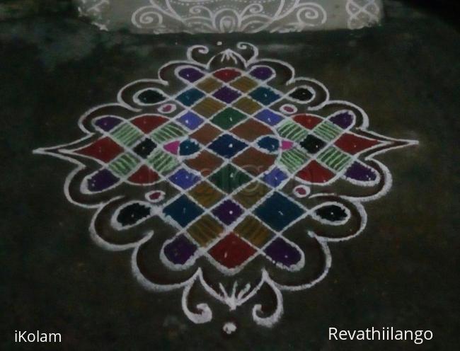 Rangoli: Rev's chikku kolam 61.