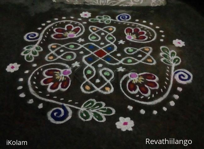Rangoli: Rev's chikku kolam 59.