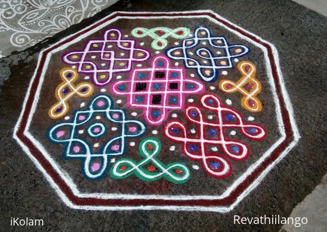 Rangoli: Rev's chikku kolam 60.